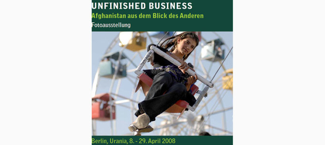 Unfinished Business Berlin: with the eye of the other